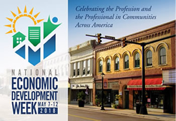 IEDC's Economic Development Week Logo and Inspiration