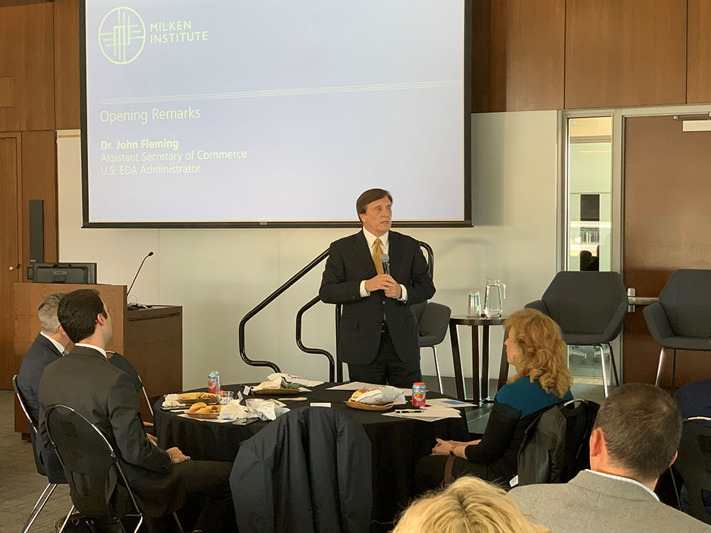 Assistant Secretary Fleming delivered remarks to the Intermountain Impact and Opportunity Zone Working Group