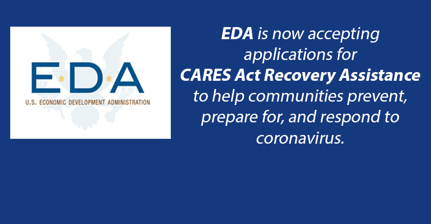 EDA CARES Act Hiring Graphic
