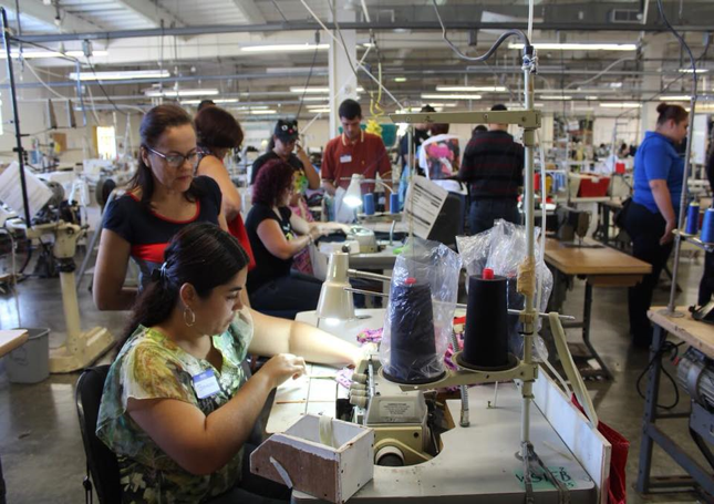Workers at Puerto Rico Industries for the Blind