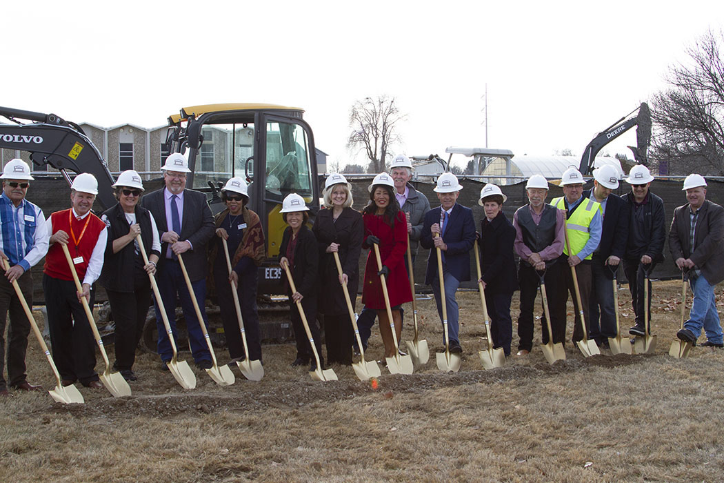 Officials break ground on the new, EDA-funded Treasure Valley Community College Career and Technical Education (CTE) Center (photos courtesy of TVCC)